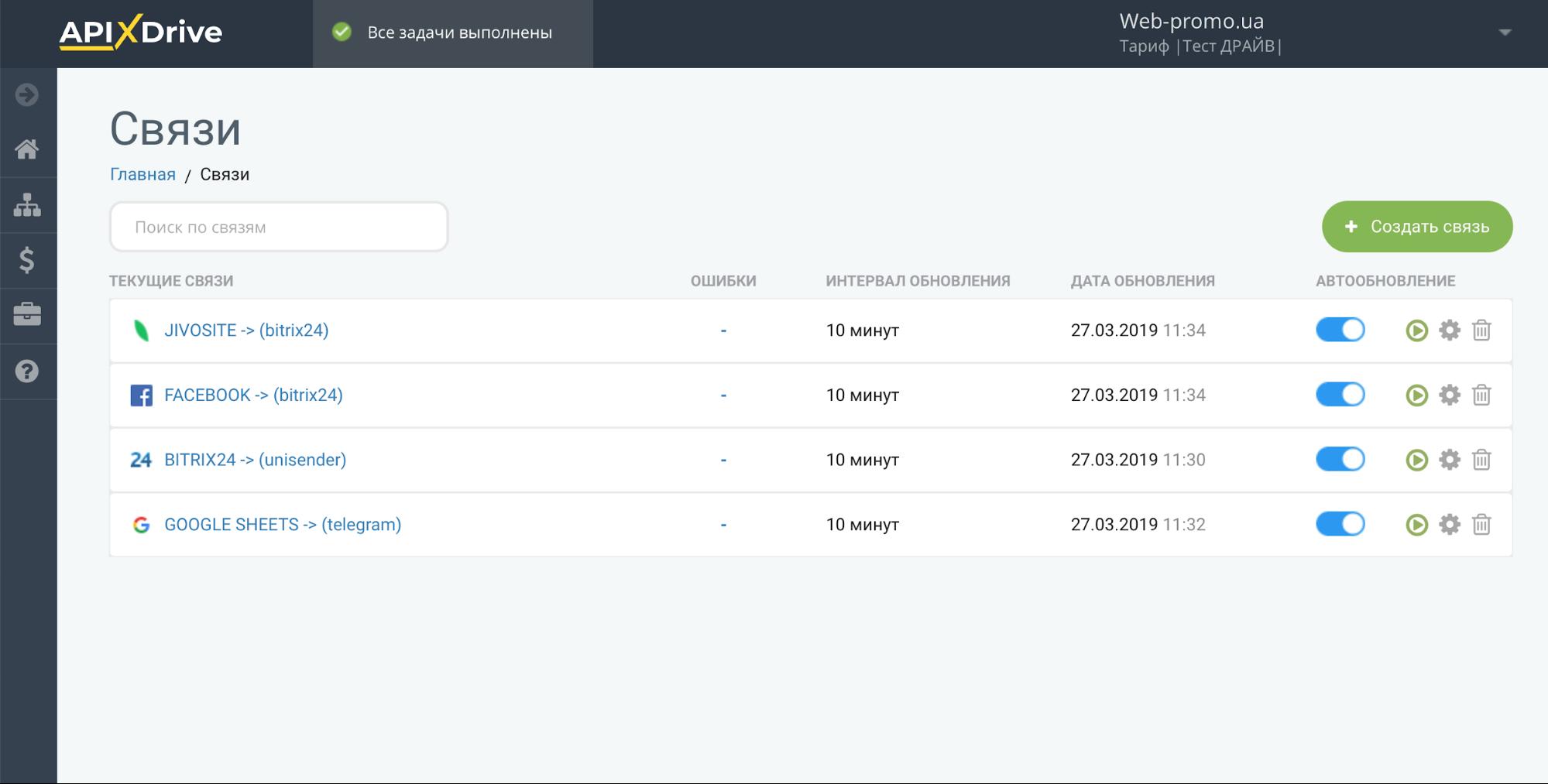 ApiX-Drive: обзор первого в Украине онлайн-конструктора интеграций