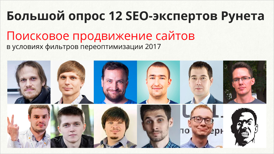 big poll 12 seo experts