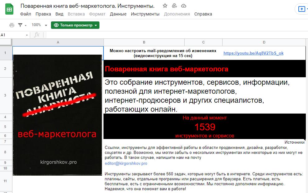 Поваренная книга интернет-маркетолога
