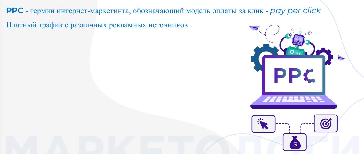 РРС-реклама работает в поисковых системах Google, Yandex, Bing и др.