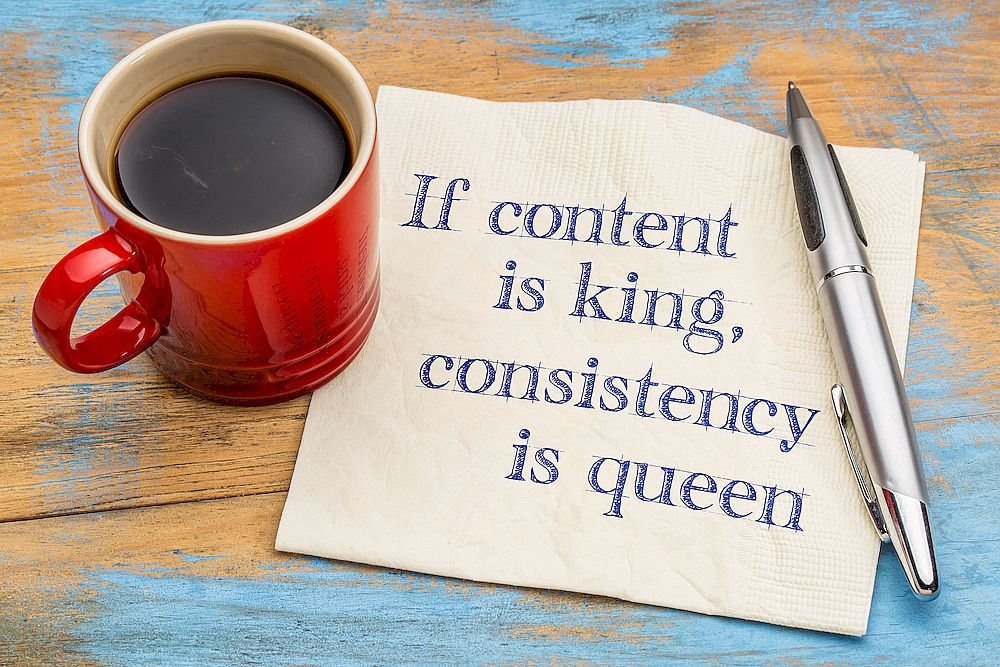 Контент король,  консистенция – королева