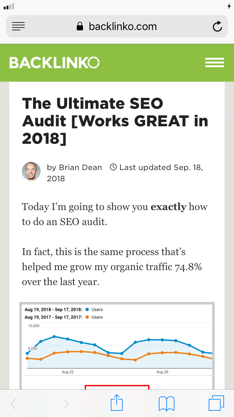 Ultimate SEO Audit